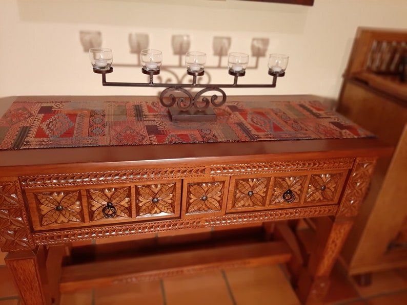 Hand Made Carved Wood Furniture, Hand Carved Furniture