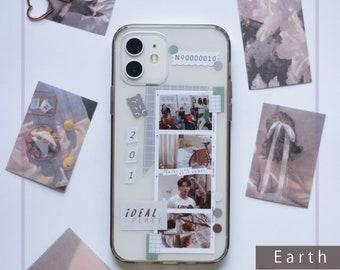 BTS (Kpop) Phone Case Decor Sticker Set   BTS Film Photo Strips   Case Not Included  