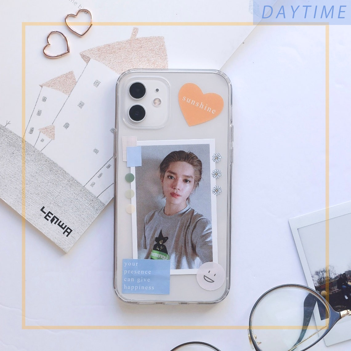 KPop Phone Case Decor Sticker Set Any K-pop member/ Kdrama image 0
