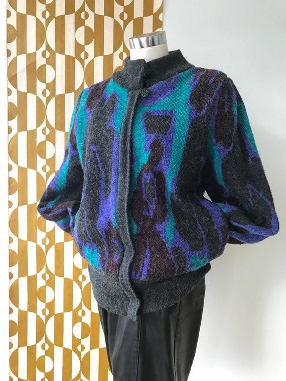 Rainbow West Knit Jacket
