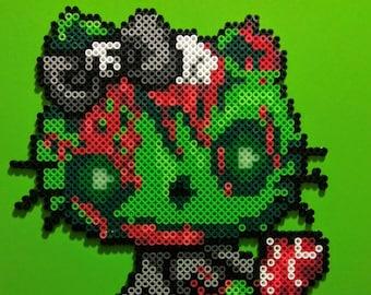 Zombie Hello Kitty 5 Layered Bow