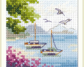 Alisa Counted Cross Stitch Kit 0-207 Ginger Cat
