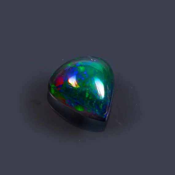 Beautiful stone 100/% Natural Ethiopian opal gemstone good Quality opal Excellent Hand Made pear Shape cabochon 13\u00d710 mm jewelry Making 1 pc