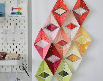 Diamond in Diamond - Foundation paper piecing pattern