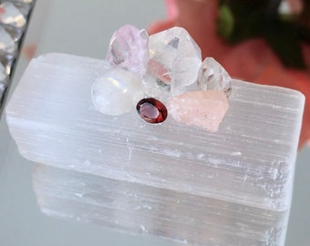 Feminine energy crystal cluster for passion, emotion, & intuition