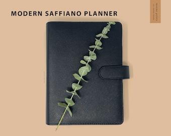 Seconds Sale - Black Saffiano A5 Planner - 6 Ring