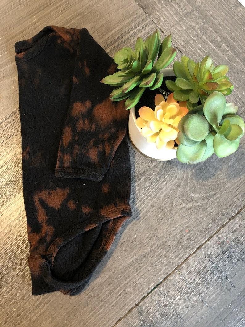 Baby Reverse dye long sleeve onesie