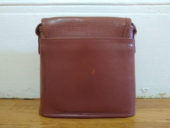 Vintage Coach Tango Leather Purse 9049 - image 7