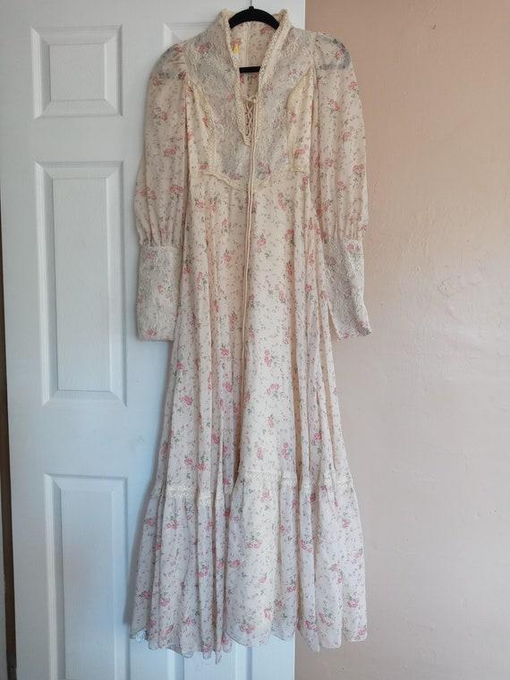 Vintage GUNNE SAX Style Dress