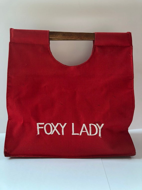 1970's Foxy Lady Tote