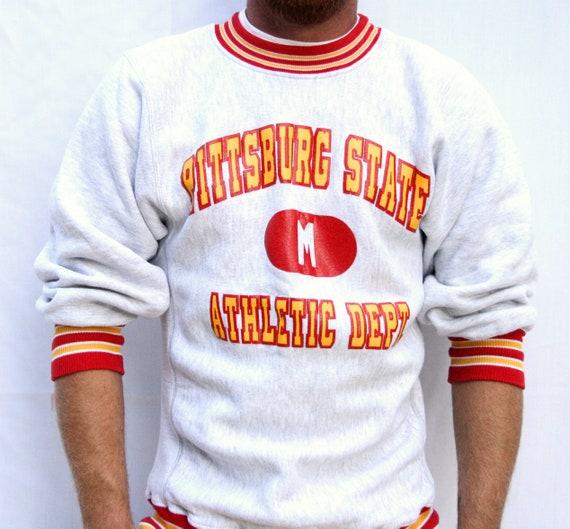 Vintage Pittsburg Sweatshirt Mens Size Medium Nort