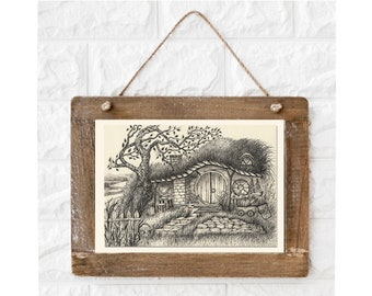 Visit The Shire Humble Home Of The Hobbits Home Wall Decor Poster No Frame