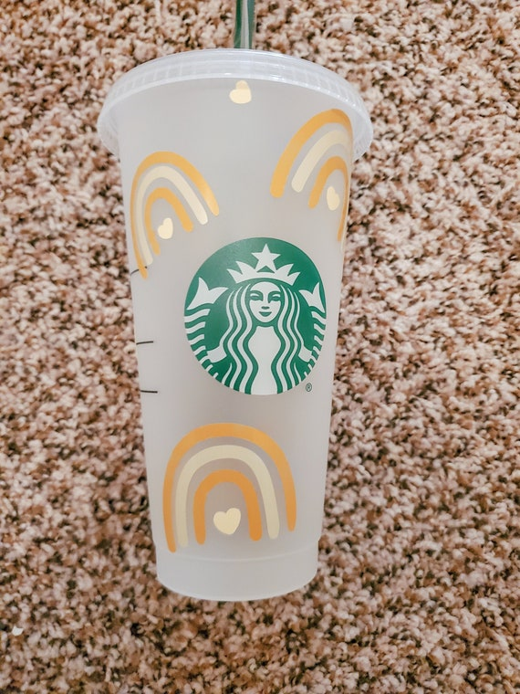 Hibiscus flower Hibiscus starbucks cup decals good luck personalized gifts tropics tropical flower paradise summer loving starbucks cup