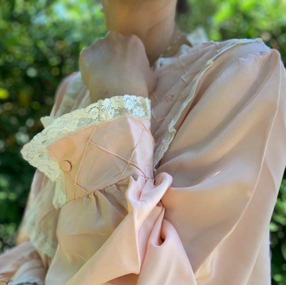 60s silk night dress