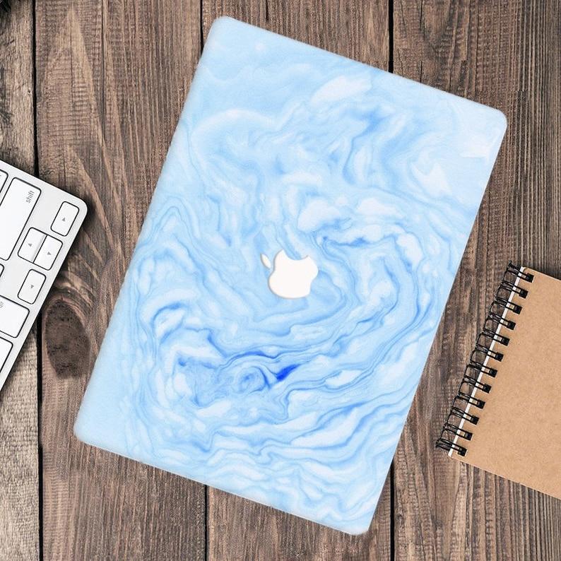Blue Marbled Luxury Mystery MacBook Case macbook pro 13 macbook air 13 2020 macbook pro 15 macbook Pro 16 inch hard case laptop case