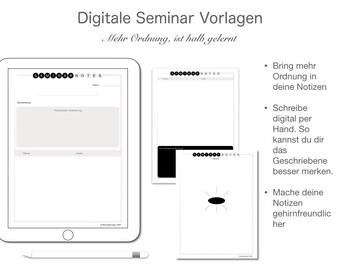 Vorlesung  Seminarvorlagen Deutsch und Englisch