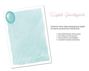 Digital Birthday Card