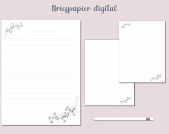 Briefpapier digital