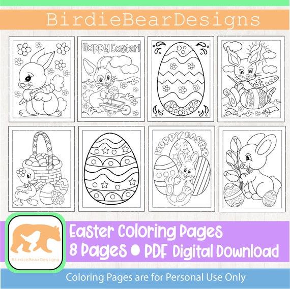 Easter Coloring Pages  Easter Coloring  Easter Coloring Book