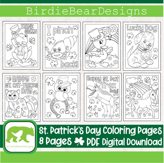St Patricks Day Coloring Page  St Patricks Day Coloring Book