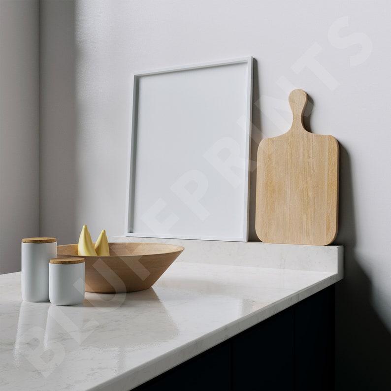 Mock Up Frame Kitchen Digital Frame Wood Mockup Picture Frame White Picture Frame 8x10 Vertical Frame
