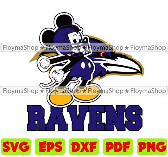 Baltimore Ravens Svg Ravens Football Svg Ravens Mascot Svg Etsy