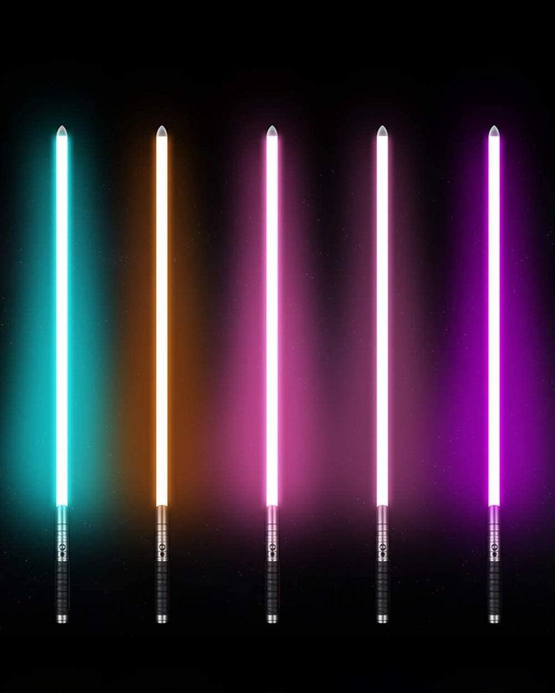 Niono\u2122 FX Light Saber Star Wars Metal Aluminium Niono Star Wars Light Saber  Black Light Sabers