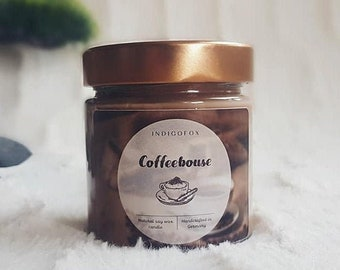 Coffee Candle | Coffeehouse | Soy scented candle