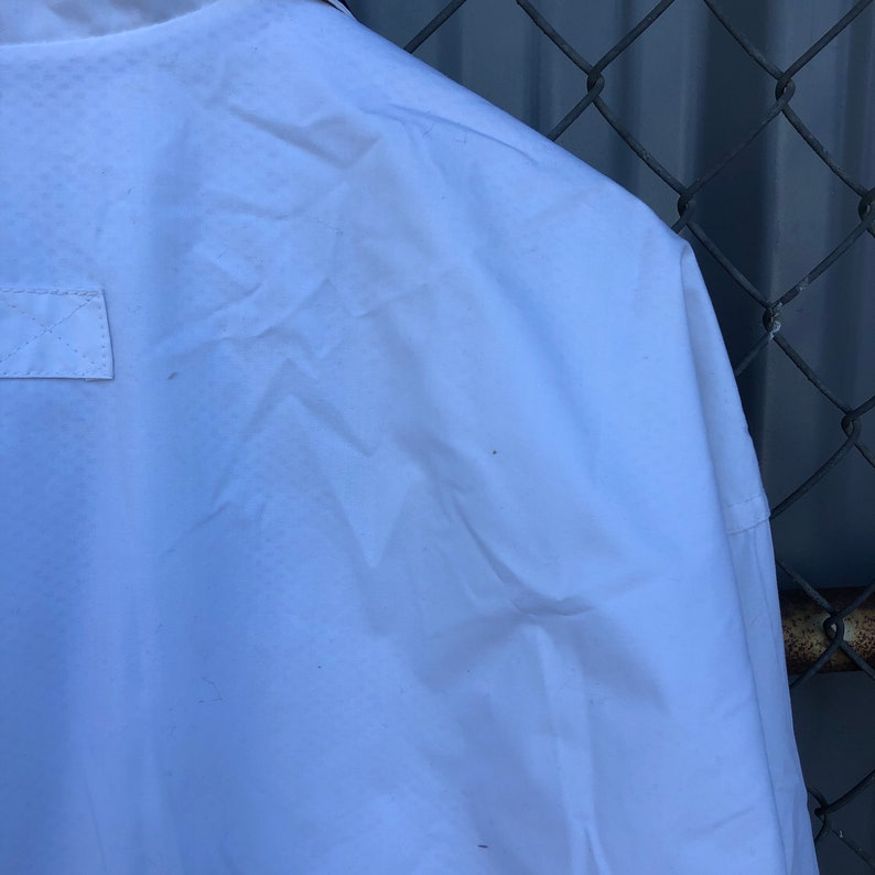 90/'s White SEC Football Jacket size Medium