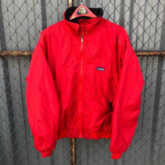 Vintage 90's Red Patagonia Fleece Lined Baggies Ja