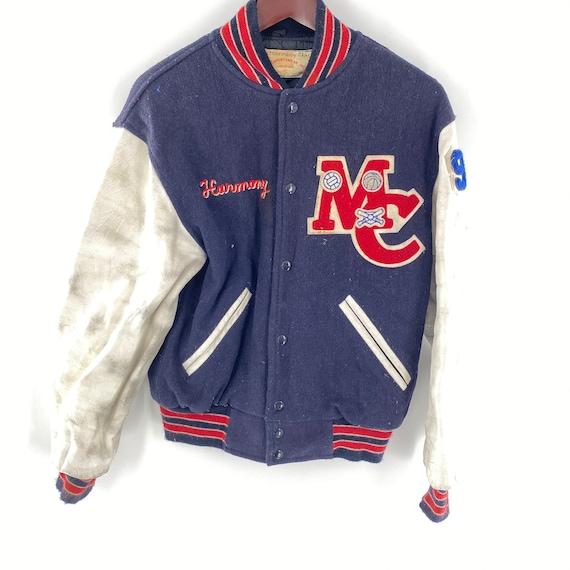 1950's 60's Macomb Varsity Letterman Jacket Chain
