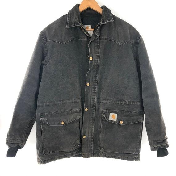Vintage Carhartt Canvas Chore Jacket Size Medium