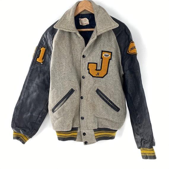 Vintage 1972 High School Varsity Letterman Jacket