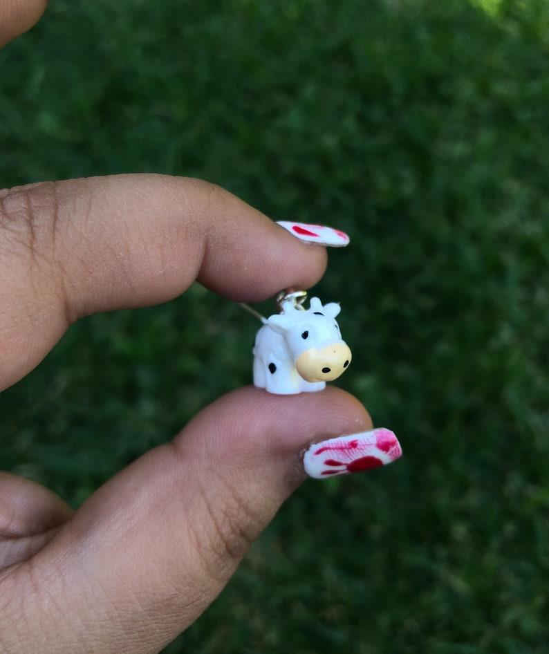 Moo Cow Earrings