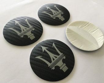 valstick Maserati Logo Car Bumper Sticker Decal