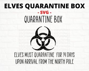Quarantine Box Svg Etsy