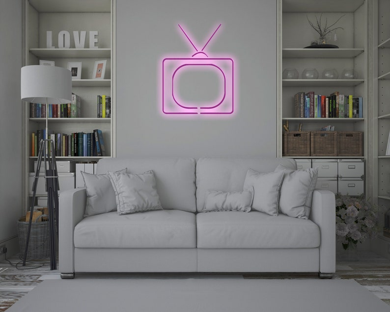 event neon sign neon sign custom neon sign Old TV LED neon sign