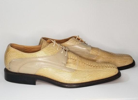 Lucio Ricci Mens Dress Shoes Size 14M, Lace up Cas