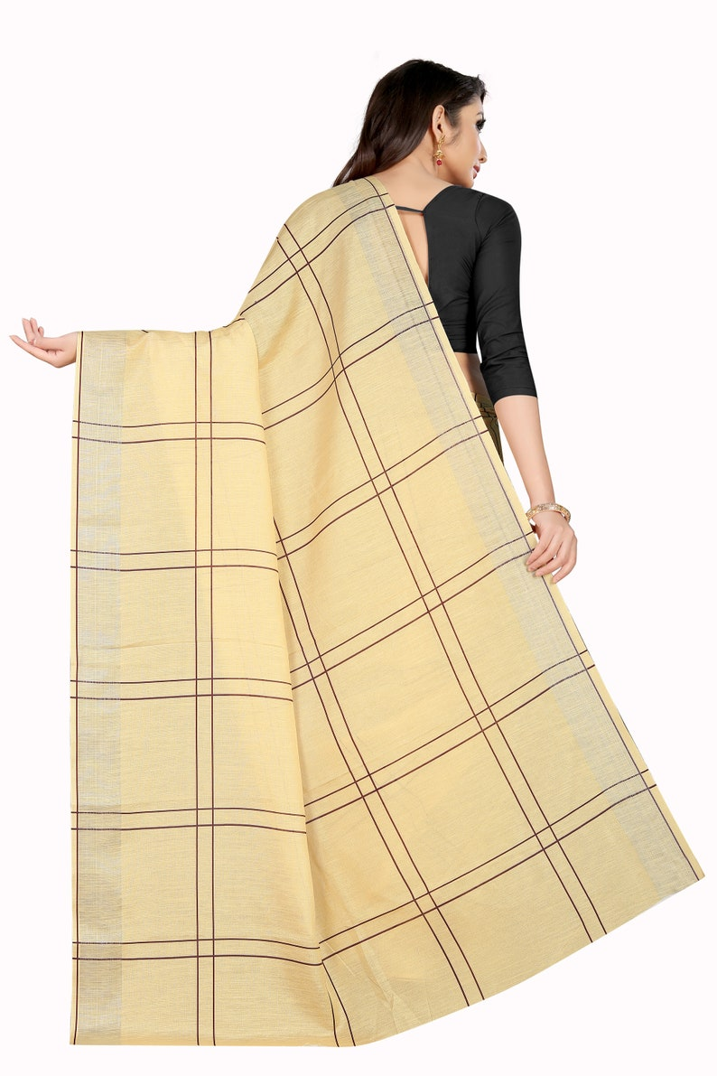 Linen Digital Printed sarees With Zari Wooven Pallu With Blouse And Indian Tradition Saree For Casual And Party Wears For Women