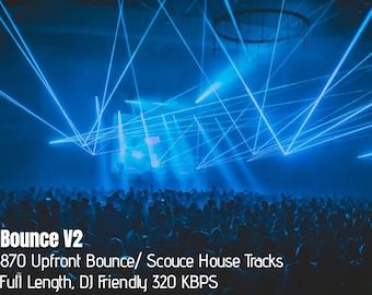 Bounce/ Scouse House V2 USB DJ Pack 870 Full Length 320 kbps (High Speed 16GB USB)