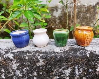 Phases of a Seedling Ceramic Vase Handmade Earthenware Pottery