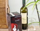 Novelty Upside Down Drinking Glass | Wine Glass