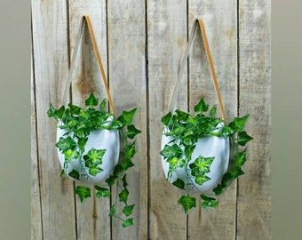 Hanging Wall Planters - Set of 2