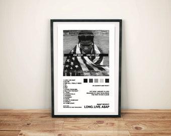 Details about  /27x27 30x30 Poster A$AP Rocky Asap Long Live 2020 Mixtape Cover Y451