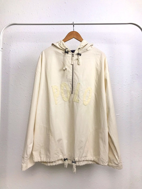 Vintage POLO SPORT 1990's Pull Over Jacket / Ralph