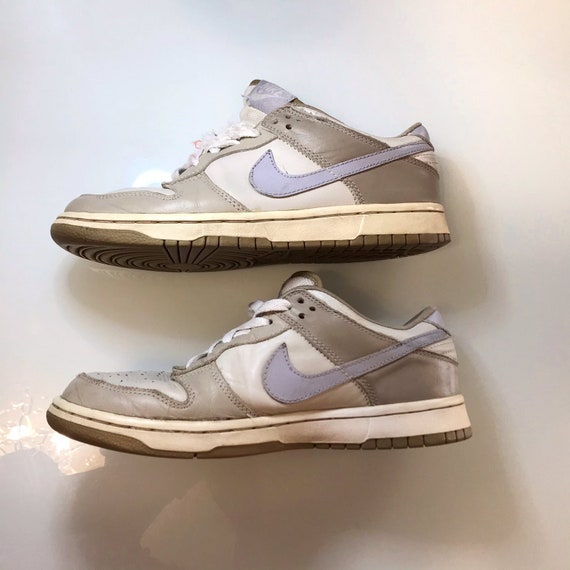 Vintage Nike Dunk Low 90s creamy Sneakers Shoes