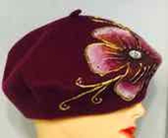 GORGEOUS VINTAGE Designer Hat \