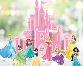 Princess Theme Birthday Party Supplies and Decorations