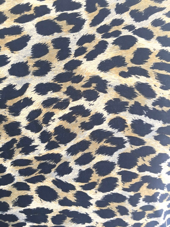 Christian Dior NEW NWT 1980s Leopard print Leotar… - image 6