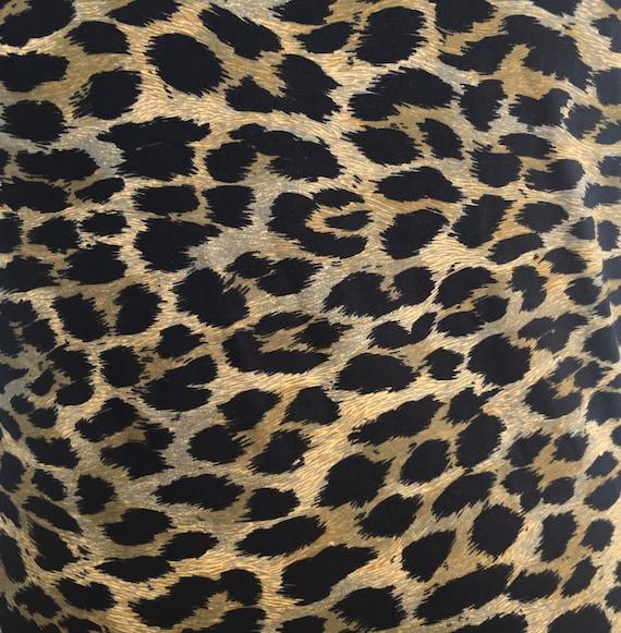 Christian Dior NEW NWT 1980s Leopard print Leotar… - image 7